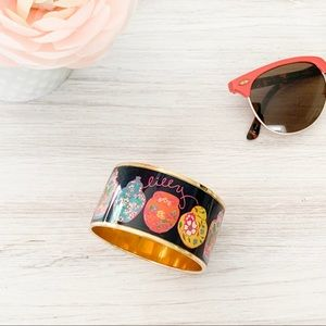 Lilly Pulitzer Limited Edition Enamel Vase Bangle